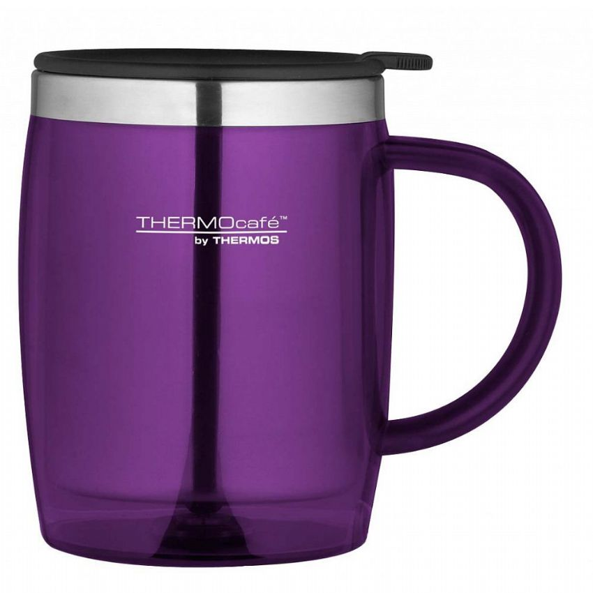 Thermos Purple Thermocafe Insulated Desk Mug 450ml